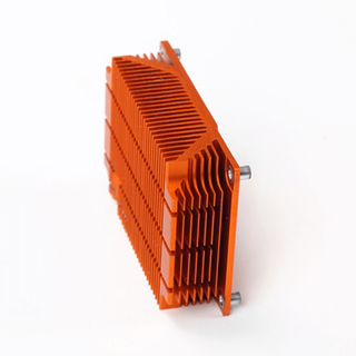 Gold heatsink made by Shunho metal solutions
