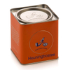 Metal tea box for Rooibos tea made by SH metal solutions