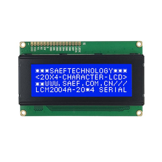 20*4 character lcd module with 8-bit MPU interface
