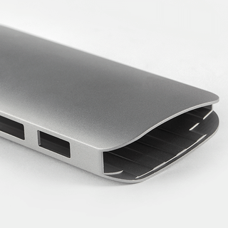 Extrusion aluminum frame for smart power bank Shunho group